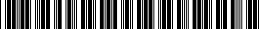 Barcode for PT94424150HW